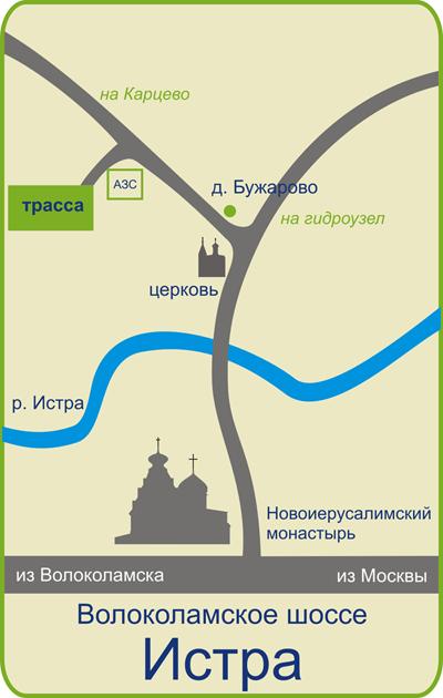 карта проезда · схема